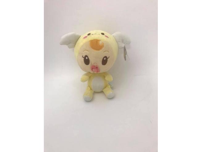 FAMOSA - Peluche Bambina Charuca con travestimento giallo 22 cm