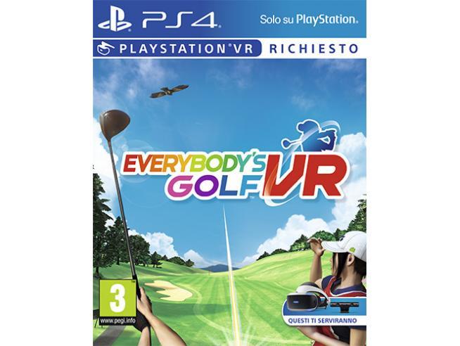 EVERYBODY'S GOLF VR SPORTIVO - PLAYSTATION 4
