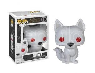 Game of Thrones Funko POP Serie TV Vinile Figura Ghost 10 cm SCATOLA ROVINATA