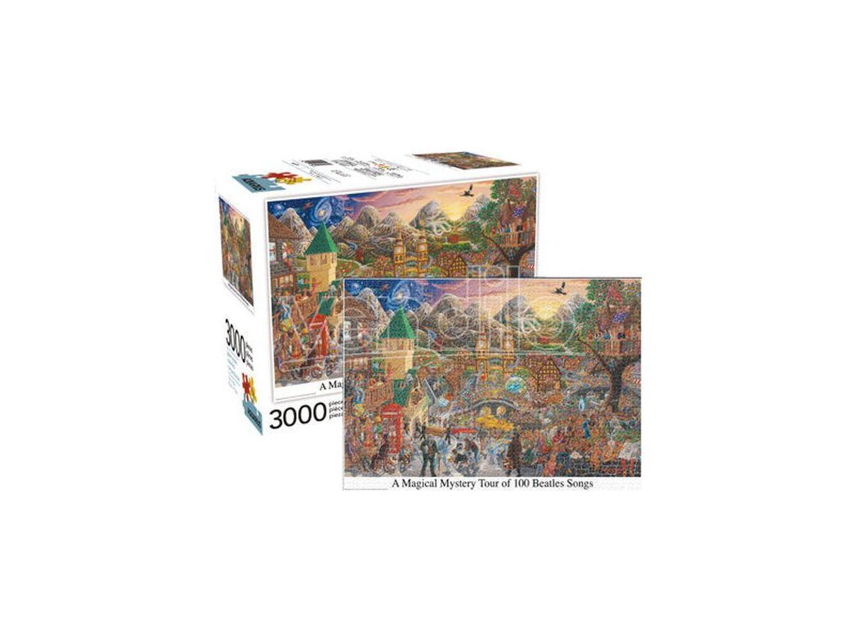 Aquarius Ent Beatles Magical Mystery Tour 3000 Pezzi Puz Puzzle