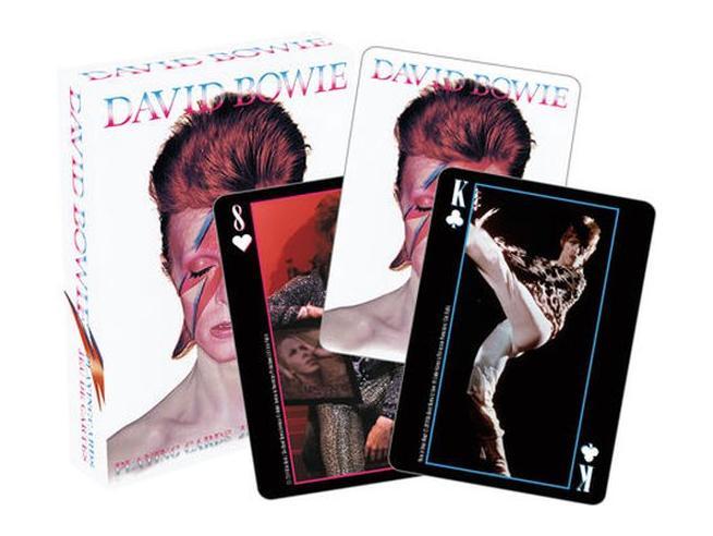 AQUARIUS ENT DAVID BOWIE PHOTOS PLAYING CARDS CARTE DA GIOCO