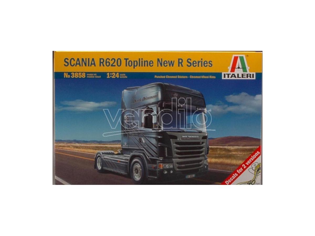 Italeri IT3858 SCANIA R 620 TOPLINE KIT 1:24 Modellino