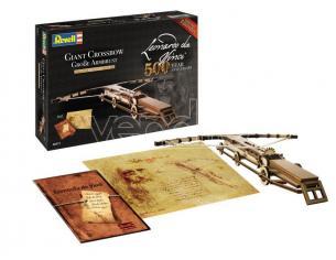 Revell Rv00517 Leonardo Da Vinci Gigante Crossbow Kit 1:100 Modellino