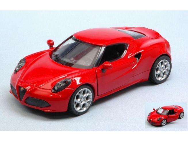 New Ray NY51193AR ALFA ROMEO 4C RED 1:32 Modellino
