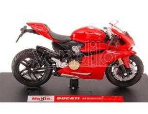 Maisto MI11092R DUCATI 1199 PANIGALE 2012 RED 1:18 Modellino