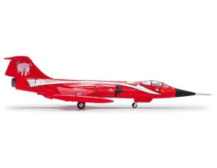Herpa 554527 Canadian Air Force Lockheed CF104 Starfighter 421 Red Indians 1:200
