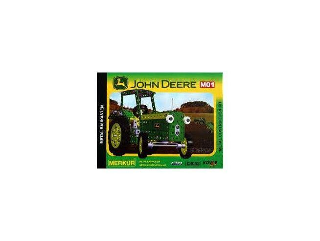 Merkur 01 - Trattore John Deere 968 615 Pz. Kit In Metallolo