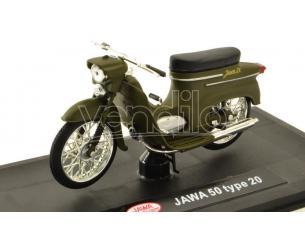Abrex ABM010G MOTO JAWA PIONYR TYP 20 1967 ZELENA VOJENSKA 1:18 Modellino