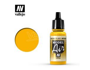 VALLEJO MODEL AIR MEDIUM YELLOW 71002 COLORI VALLEJO