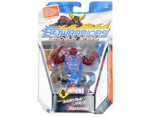 Hasbro BW-1C - Beywarriors Samurai trottola blu e rosso (Giocattolo)