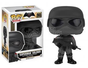 Batman vs Superman Funko POP Heroes Vinile Soldato Superman 9cm Scatola rovinata