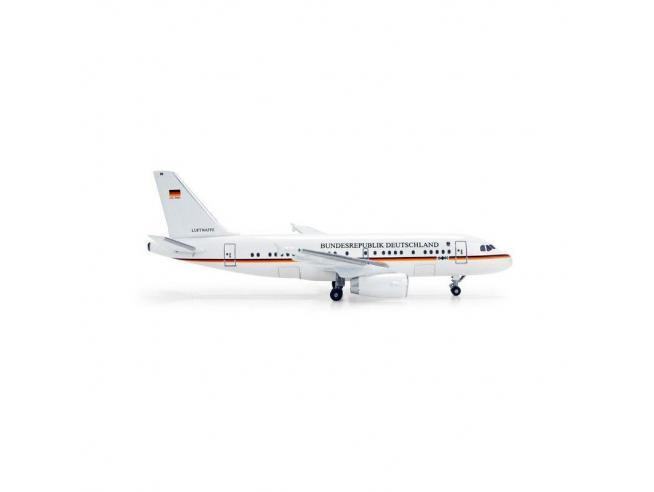 Herpa 505178 Luftwaffe Airbus A319 Luftwaffe Bundesrepublik Deutschland 1:500