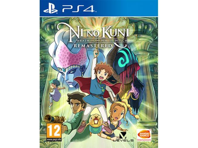 NI NO KUNI:MINAC.DEL.STR.CINEREA REMAST. GIOCO DI RUOLO (RPG) - PLAYSTATION 4