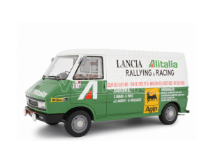 LAUDO RACING LM107A1 FIAT 242 ASSISTENZA LANCIA 1974 1:18 Modellino