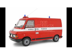 LAUDO RACING LM107BVF FIAT 242 VIGILI DEL FUOCO 1984 1:18 Modellino
