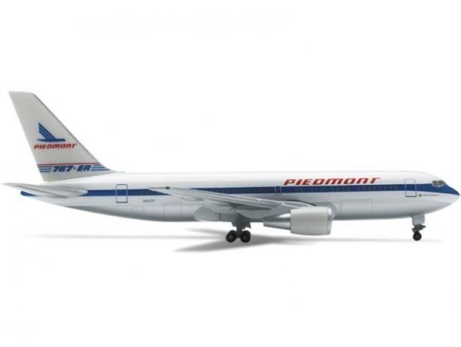 Herpa 514866 Piedmont Airline Set B767-200 & Douglas DC-3 1:500 Aereo Modellino