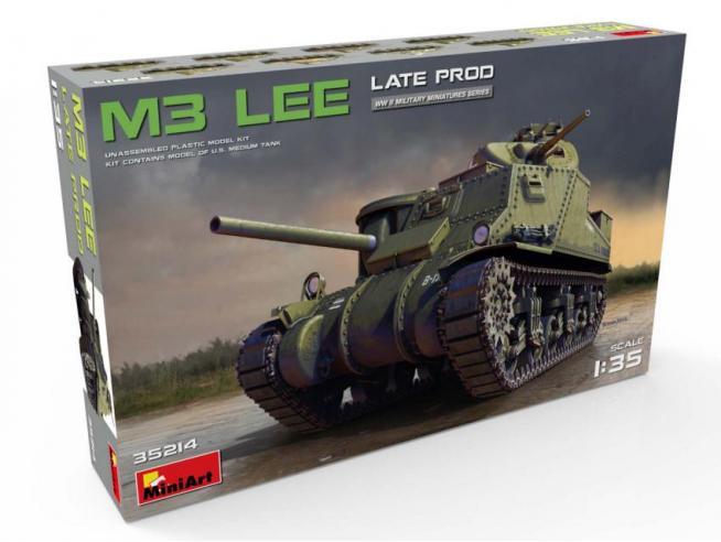 Miniart MIN35214 M3 LEE LATE PRODUCTION KIT 1:35 Modellino