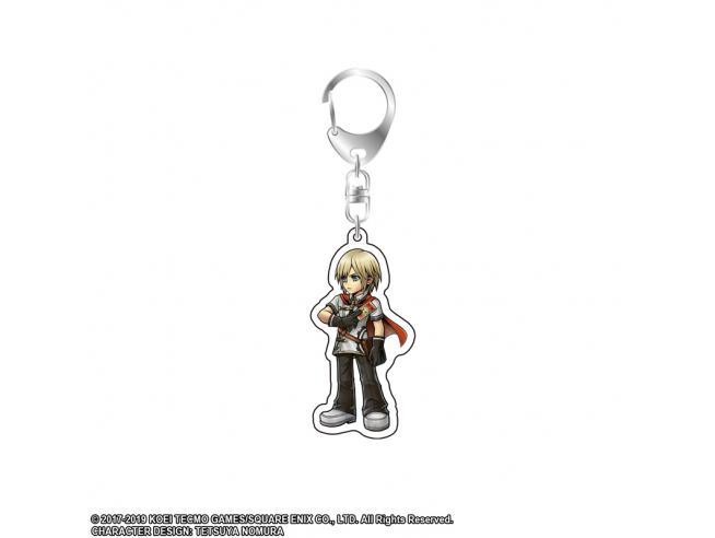 Square Enix Dff Stampa In Acrilico Key Holder Vol.9 Ace Portachiavi