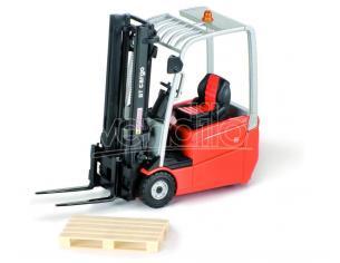 Ros Rs00146 Muletto Bt Branded Forklift Arancione 3 Wheels 1:23 Modellino