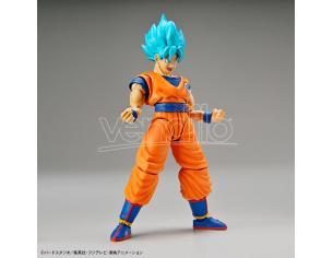 Bandai Model Kit Figura Rise Super Saiyan God Ss Son Goku Model Kit