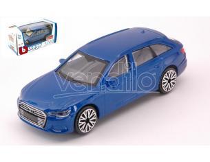 BBURAGO BU30398B AUDI A6 AVANT BLUE 1:43 Modellino