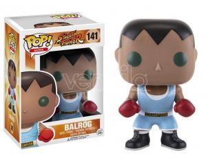 Street Fighter Funko POP Games Vinile Figura Balrog 9 cm Scatola Rovinata