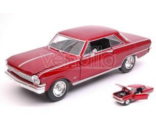 New Ray NY71823R CHEVY NOVA 1964 RED 1:24 Modellino