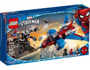 LEGO MARVEL 76150 - SPIDER-MAN: SPIDERJET VS MECH VENOM