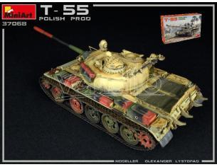 Miniart MIN37068 T-55 POLISH PROD. KIT 1:35 Modellino