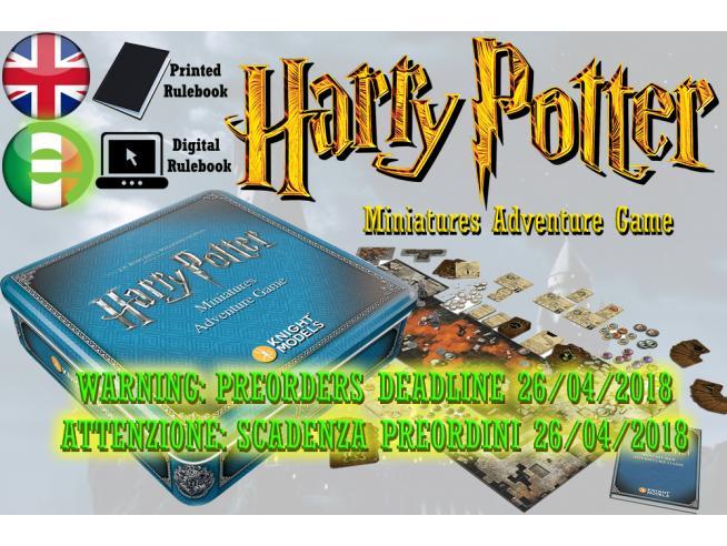 Harry Potter Knight Models Miniature Adventure Game Gioco Da Tavolo