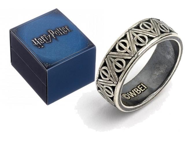 Carat Harry Potter Doni Della Morte Acciaio Inossidabile Ring Anello