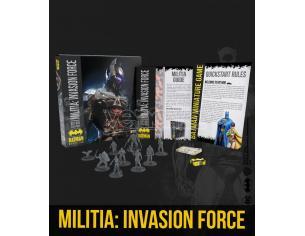 KNIGHT MODELS BMG MILITIA: INVASION FORCE BAT BOX WARGAME