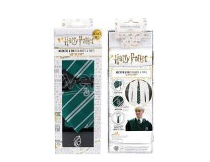 Harry Potter Cinereplicas Serpeverde Cravatta Dlx Box Set Cravatta