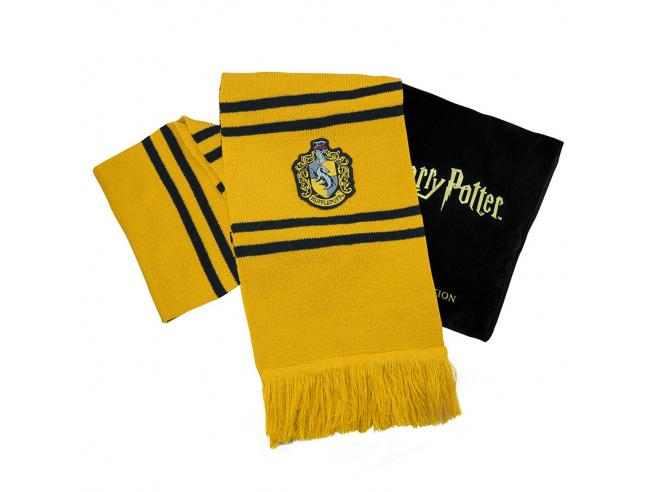 Harry Potter Cinereplicas Tassorosso Deluxe Sciarpa Sciarpa