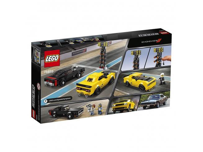 LEGO SPEED CHAMPIONS 75893 - DODGE CHALLENGER SRT E 1970 DODGE CHARGER