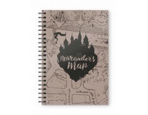 Harry Potter Mappa Del Malandrino Spiral Agenda Taccuino Sd Toys