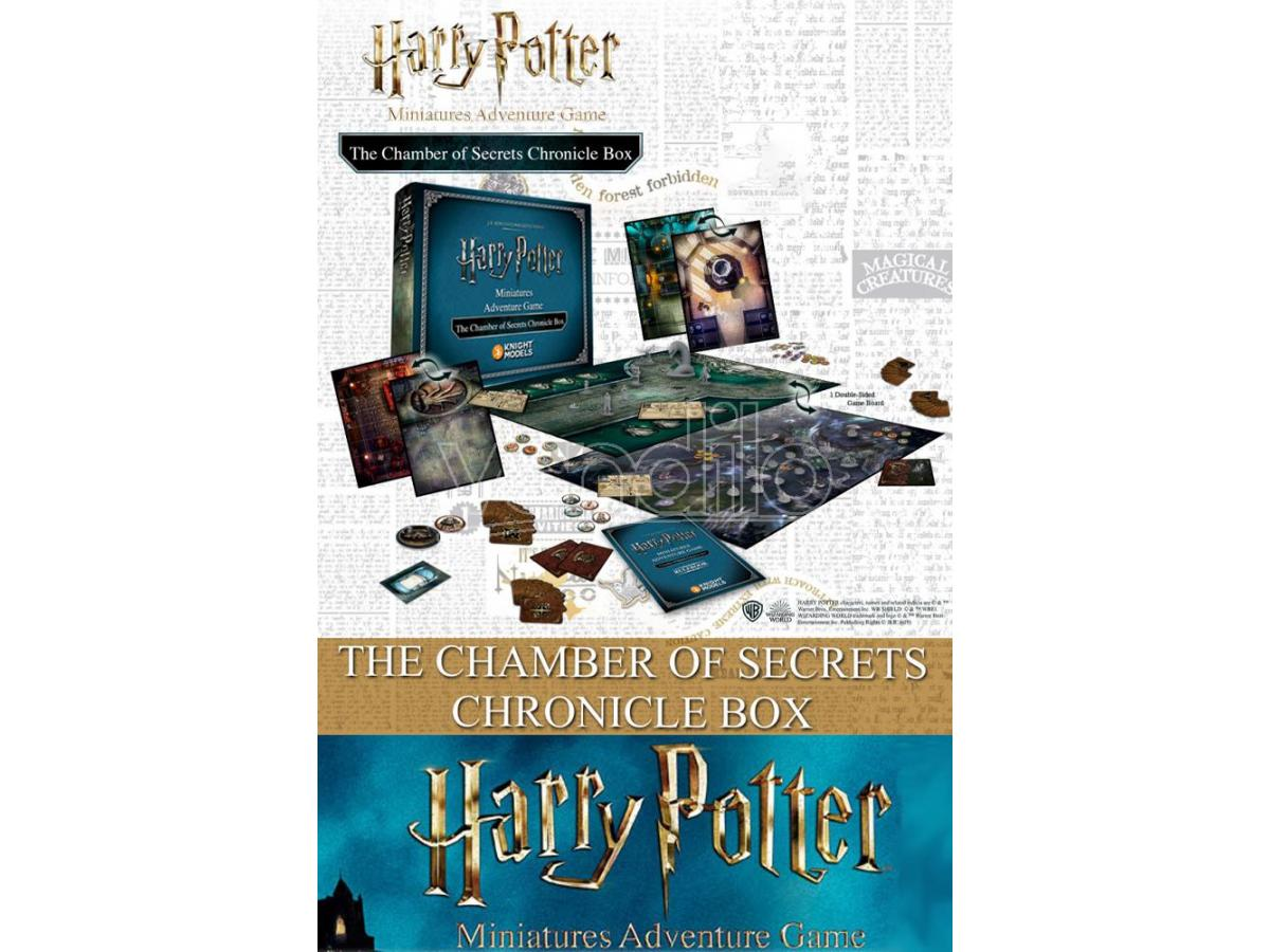 KNIGHT MODELS HARRY POTTER CHAMBER OF SECRETS CHRONICLE BOX WARGAME