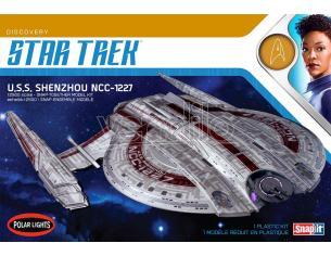 POLAR LIGHT STAR TREK USS SHENZHOU SNAP 2T MODEL KIT