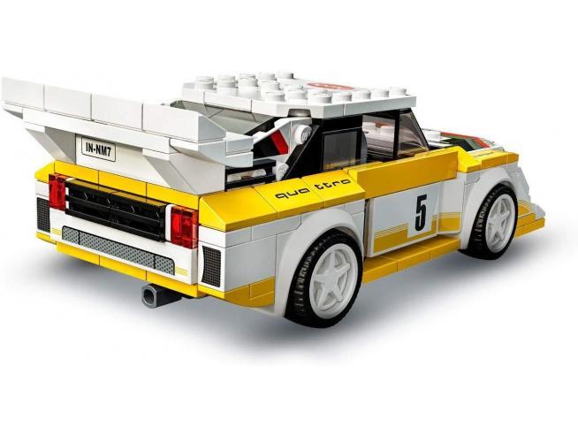 LEGO SPEED CHAMPIONS 76897 - 1985 AUDI SPORT QUATTRO S1
