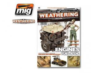 AMMO BY MIG JIMENEZ THE WEATHERING MAG 4 ENGINE GR ENG VER RIVISTA