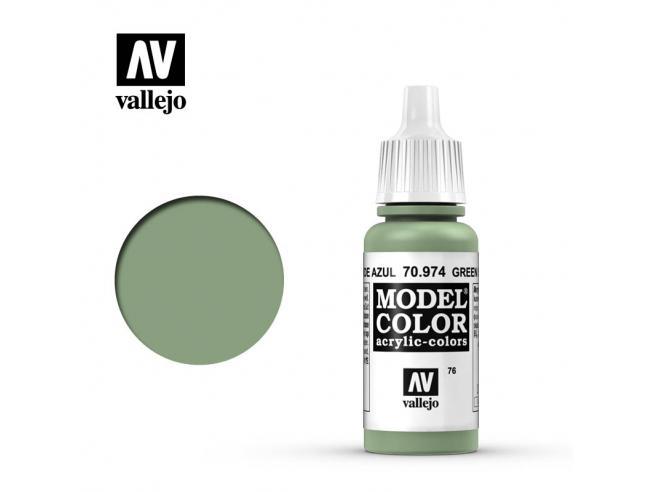 VALLEJO MC 076 GREEN SKY 70974 COLORI VALLEJO