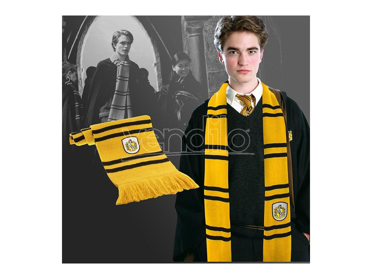 Harry Potter Cinereplicas Tassorosso Sciarpa Sciarpa