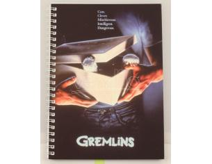 Sd Toys Gremlins Movie Poster Spiral Agenda Taccuino