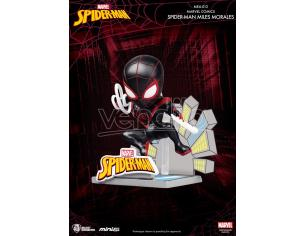 Beast Kingdom Mini Uova Attack Spider-man Miles Morales Mini Figura