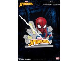 Beast Kingdom Mini Uova Attack Spider-man Peter Parker Mini Figura