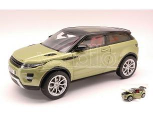Welly We4691 Range Rover Evoque 2011 Light Metallolic Green 1:18 Modellino