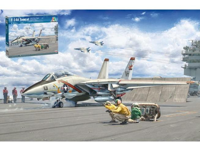 Italeri IT1414 F-14A TOMCAT KIT 1:72 Modellino