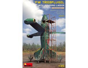 Miniart Min40005 Fw Triebflugel Con Boarding Ladder Kit 1:35 Modellino