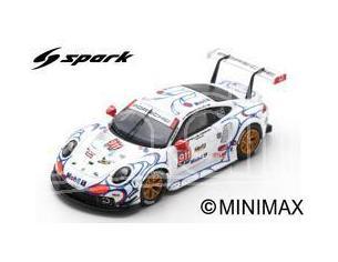 Spark Model S87147 PORSCHE 911 RSR N.911 WINNER GTLM PETIT LM 2018 PILET-TANDY-MAKOW.1:87 Modellino