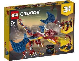 LEGO CREATOR 31102 - DRAGO DEL FUOCO